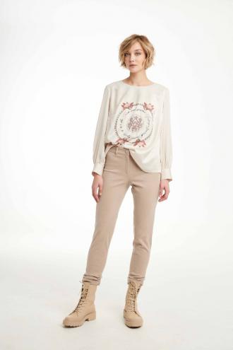 Μπλούζα με τυπωμένο σχέδιο στεφάνι